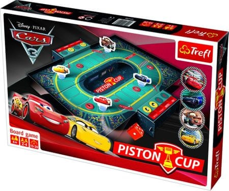 Trefl Auto/Cars 3 Piston Cup
