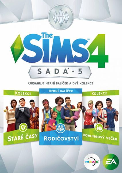 EA Games The Sims 4 Bundle Pack 5 / PC