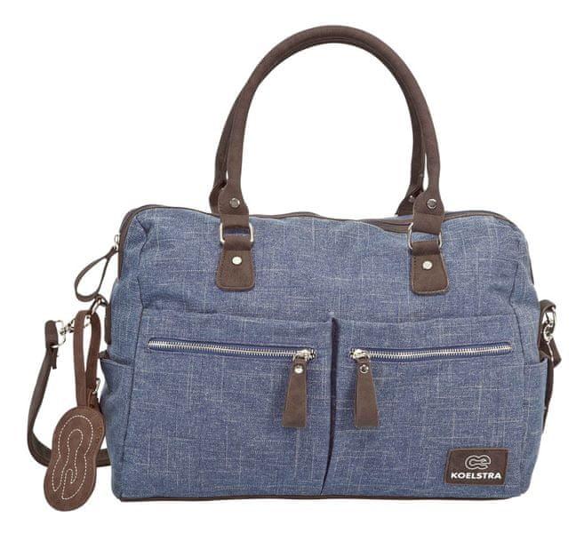 Koelstra Přebalovací taška Nimme Denim, Blue
