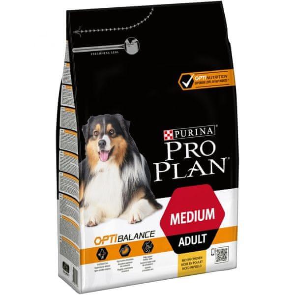Purina Pro Plan Medium Adult OPTIBALANCE 3kg
