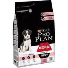 Purina Pro Plan hrana za mladiče srednjih pasem z občutljivo kožo 3 kg