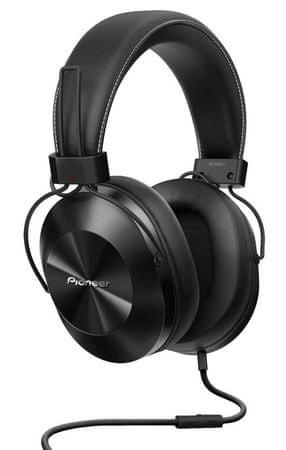 Pioneer SE-MS5T Hi-Res Audio képes fejhallgató, Fekete