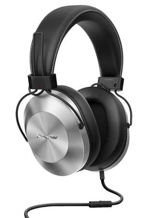 Pioneer slušalke SE-MS5T, srebrne