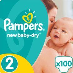 Pampers New Baby 2 Mini (3-6kg) Giant Pack - 100 ks