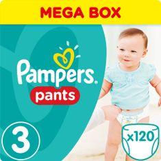 Pampers Plenkové kalhotky ActivePants 3 Midi Mega Box 120 ks