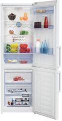 BEKO RCSA330K31W Szabadonálló alulfagyasztós hűtőszekrény