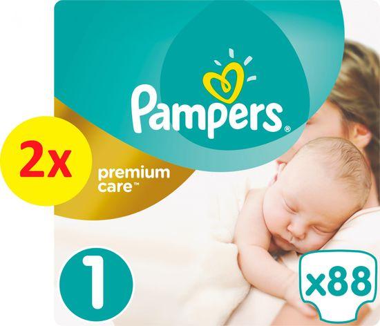 Pampers Pleny PremiumCare 1 Newborn - 176 ks