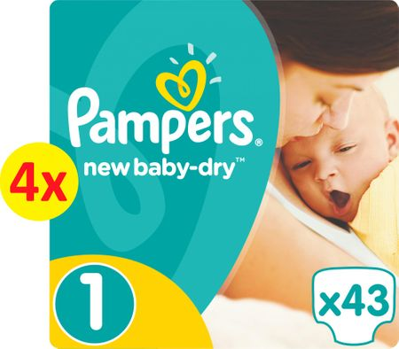 Pampers New Baby 1 Newborn pelenka - 172 db