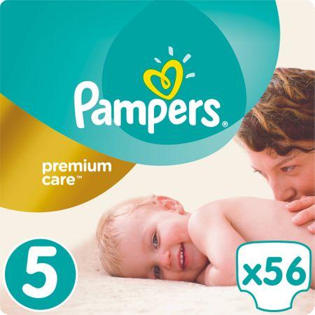 Pampers PremiumCare Pieluchy, rozmiar 5 Junior, 56 sztuk