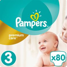Pampers pelene Premium Care 3 Midi, 80 kom