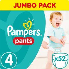 Pampers ActivePants 4 Maxi Jumbo Pack 52 ks
