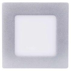 EMOS LED prisadené svietidlo štvorec 6W neutrálna biela, strieborná