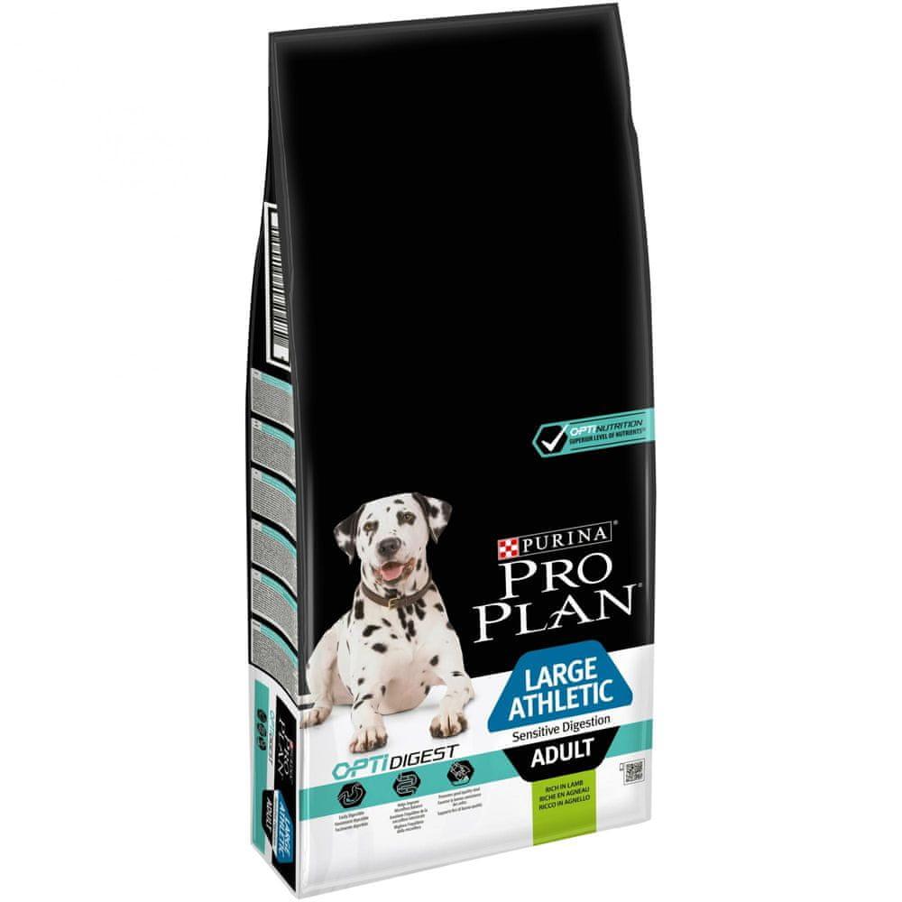 Purina Pro Plan Large Adult Athletic OPTIDIGEST Lamb 14 kg