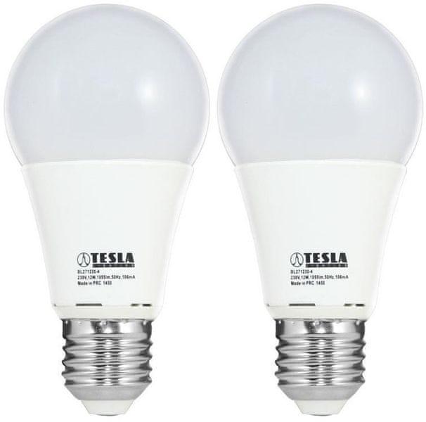 Tesla LED žárovka BULB E27, 12W 2pack