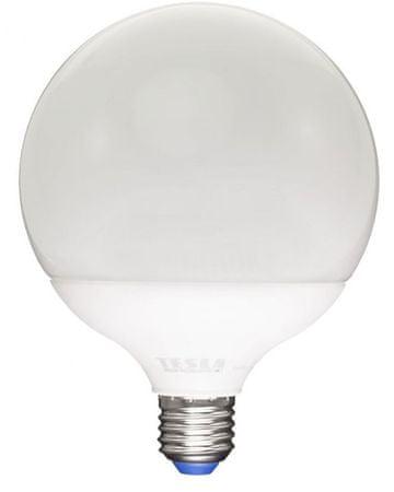 Tesla LED žárovka GLOBE E27, 15W