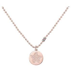 Tommy Hilfiger Bronzový náhrdelník s hviezdou TH2700926