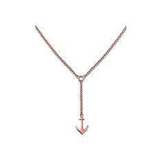 Tommy Hilfiger Bronzový náhrdelník s kotvou TH2700923
