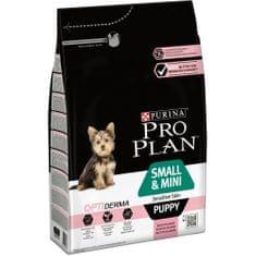 Purina Pro Plan hrana za pse mini in majhne pasme Puppy z občutljivo kožo 3kg