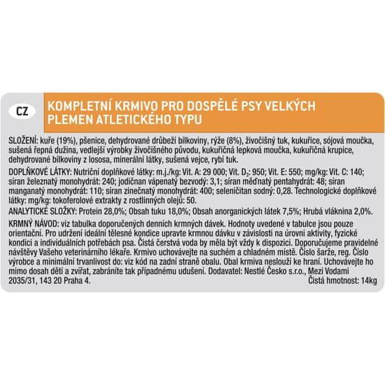 Purina Pro Plan Large Athletic Adult Optihealth 14kg