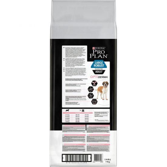 Purina Pro Plan hrana za pse z občutljivo kožo Adult Large Robust Optiderma, 14 kg