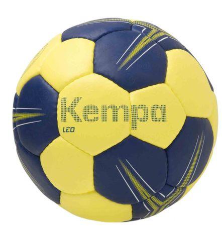 KEMPA žoga za rokomet Leo, modro-rumena, velikost 0