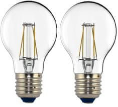Tesla LED žiarovka CRYSTAL RETRO BULB, E27, 4W 2pack