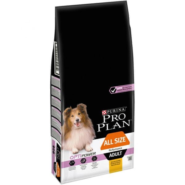 Purina Pro Plan All sizes Adult Performance OPTIPOWER 14kg