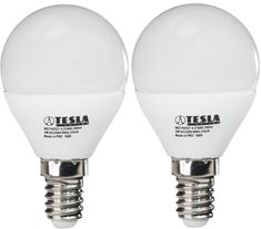 Tesla LED žiarovka mini BULB, E14, 3W 2pack