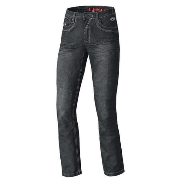 Held pánské kalhoty CRANE STRETCH vel.30 černá, textilní - jeans, Kevlar
