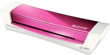 Leitz laminator iLam Home Office A4, kovinsko rožnat