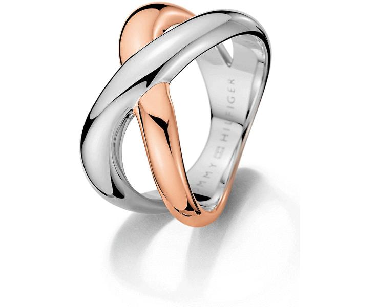 Tommy Hilfiger Masivní prsten z oceli TH2700965 (Obvod 56 mm)