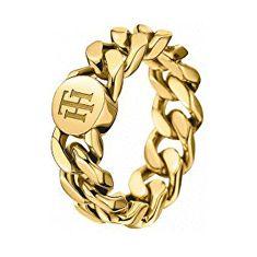 Tommy Hilfiger Fashion pozlacený prsten TH2700967