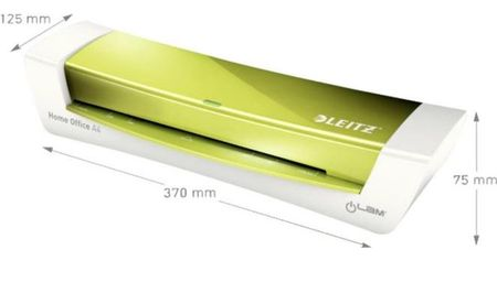 Leitz laminator iLam Home Office A4, kovinsko zelen