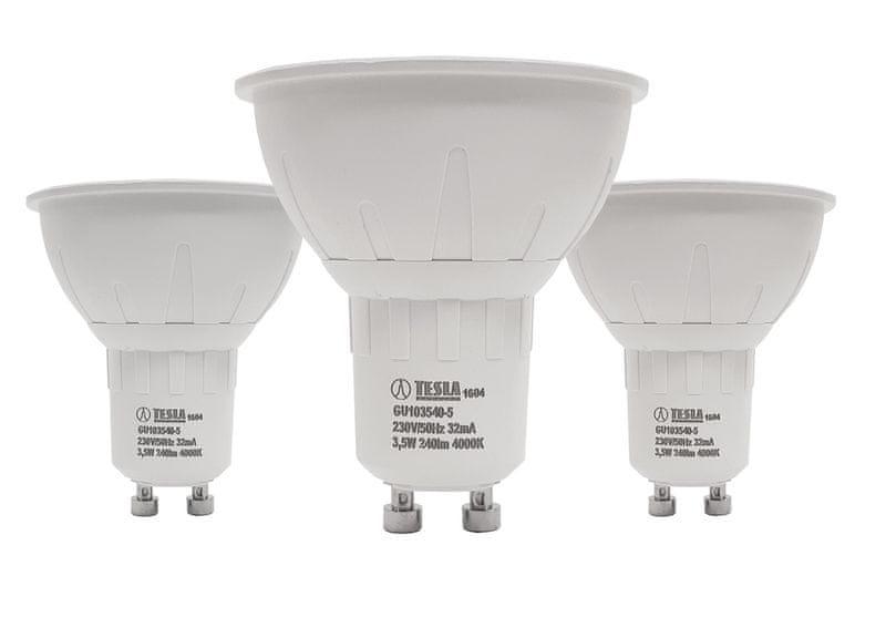 Tesla LED žárovka GU10, 3,5W 3pack GU103540-5