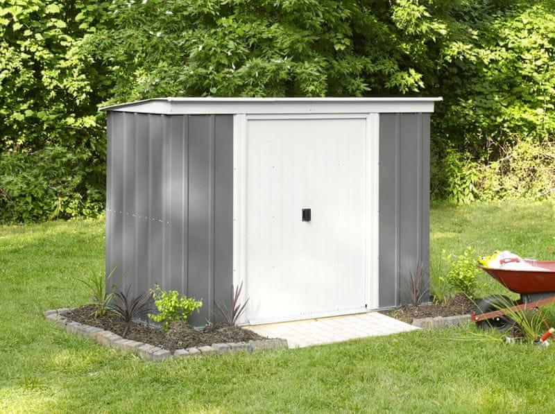 Arrow zahradní domek ARROW PT 84 šedý