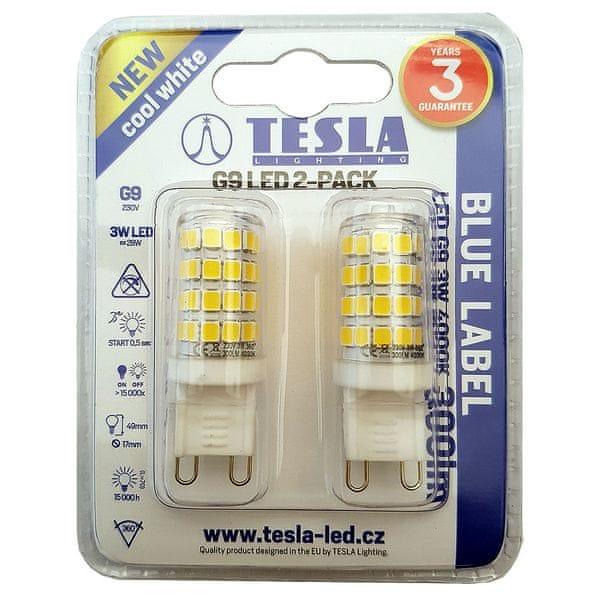 Tesla LED žárovka, G9, 3W G9000340-5