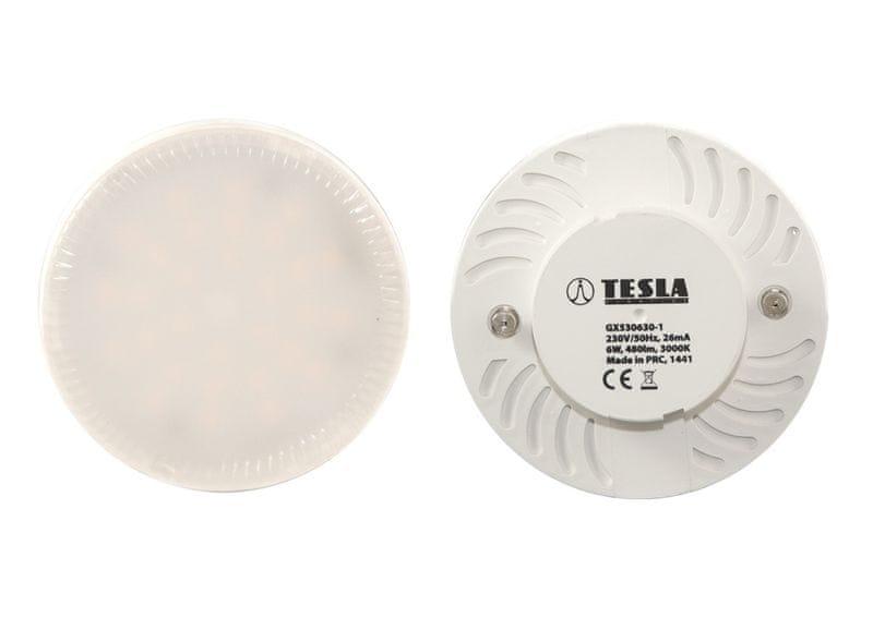 Tesla LED žárovka, GX53, 6W 2pack