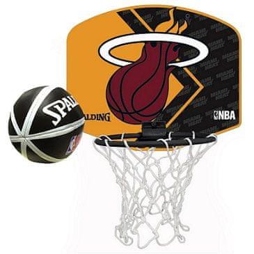 Spalding mini sobni košarkarski sistem Miami Heat