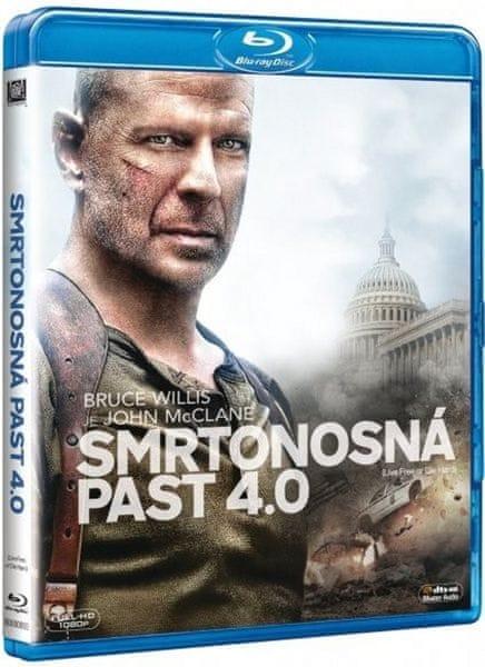 Smrtonosná past 4.0 - Blu-ray