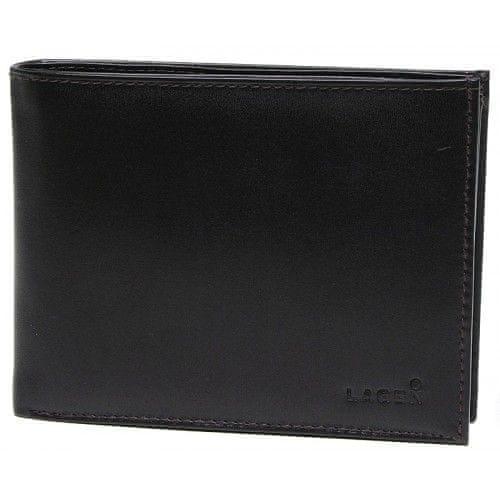 Lagen Pánská hnědá kožená peněženka Dark Brown V-3-2