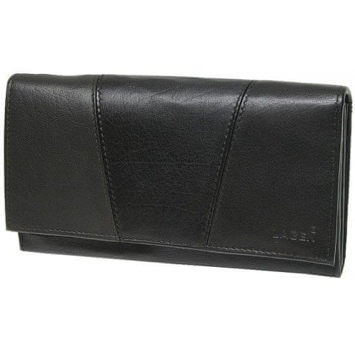 Lagen Dámská černá kožená peněženka Black PWL-388-1