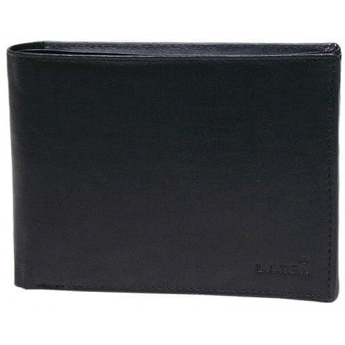 Lagen Pánská černá kožená peněženka Black V-73-1