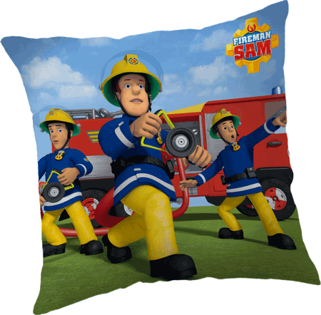 Jerry Fabrics poduszka Strażak Sam 010, 40 x 40 cm