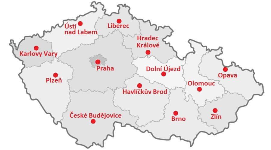 Mapa Servisů Parktool