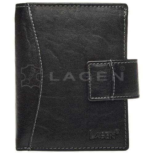 Lagen Kožená peněženka Black 3808/T
