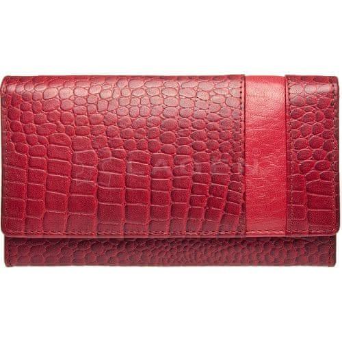 Lagen Dámská kožená peněženka Red 2111/C