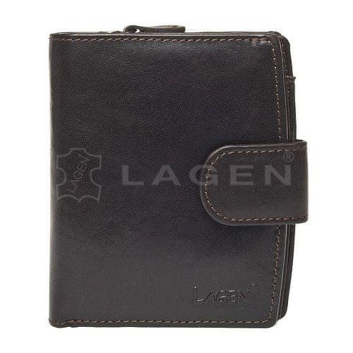 Lagen Dámská kožená peněženka 3807/T Brown