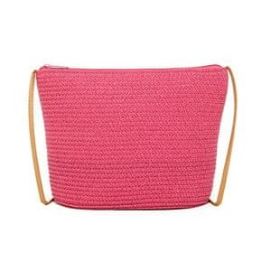Magid Crossbody taška Paper Straw Crossbody Fuchsia