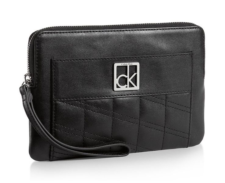 Calvin Klein Peněženka Kora Katy Clutch černá