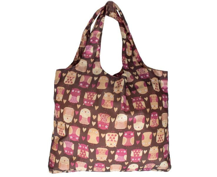Albi Skládací nákupní taška se sovami